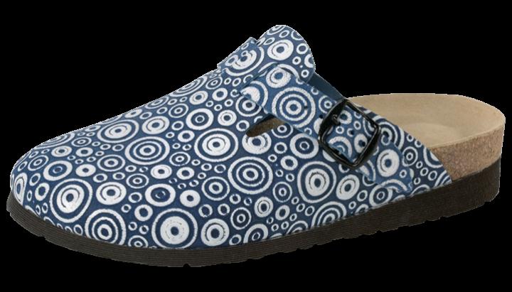 echt Leder | circle blue