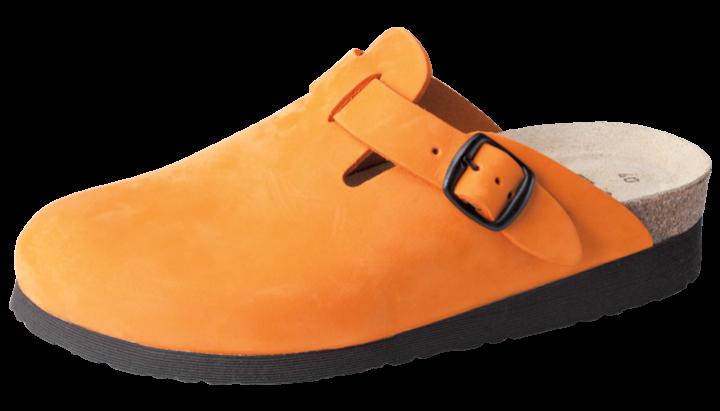 Nubukleder | orange